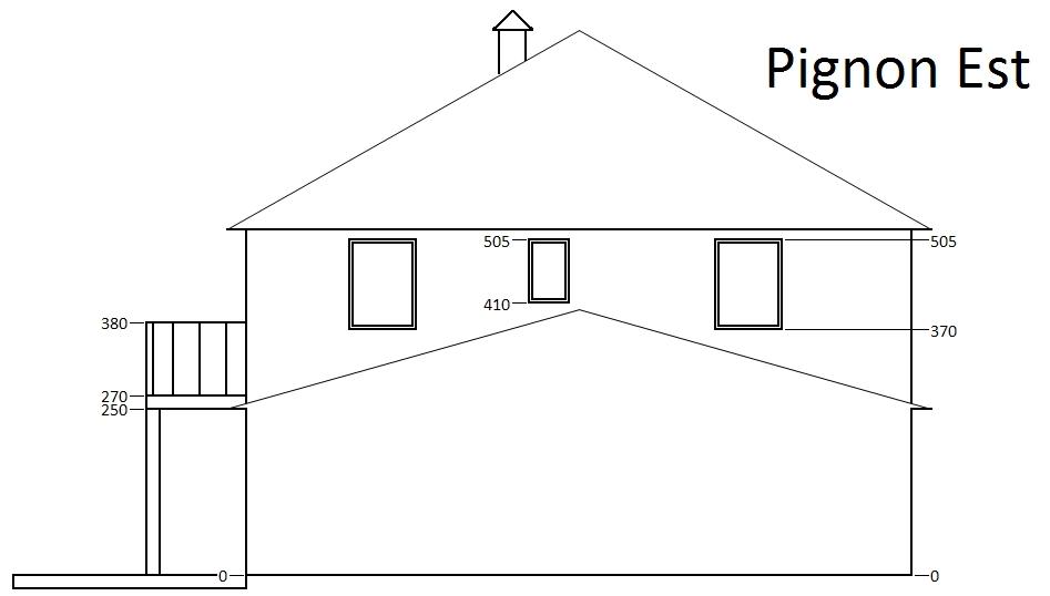 maison plain pied hauteur