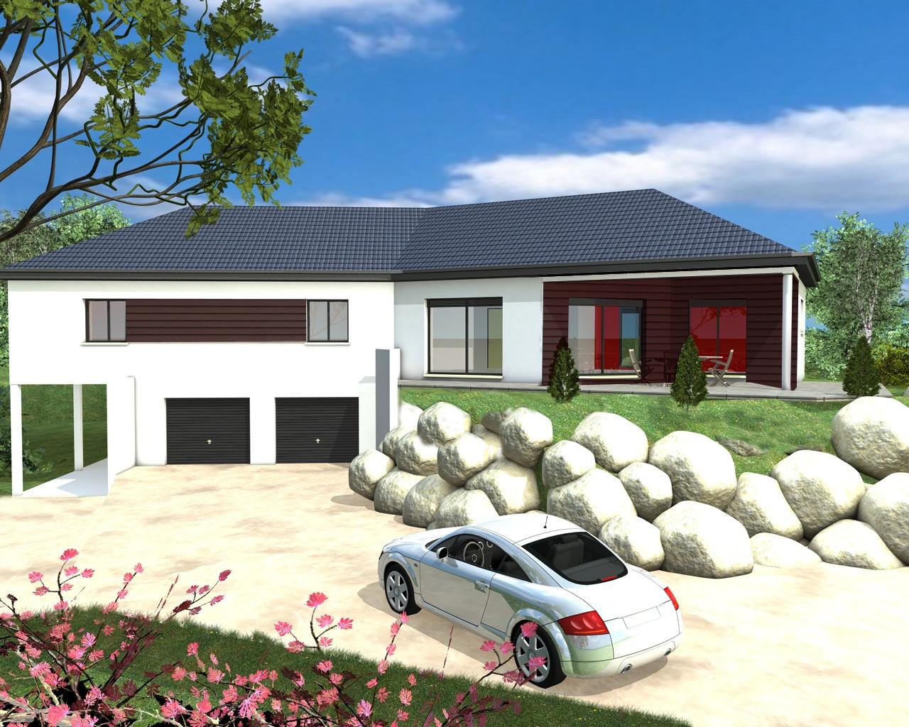 maison plain pied ou sous sol. Black Bedroom Furniture Sets. Home Design Ideas