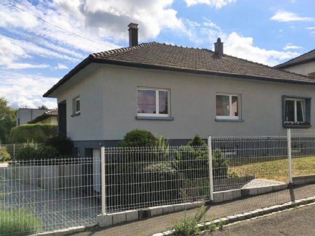 maison plain pied riedisheim