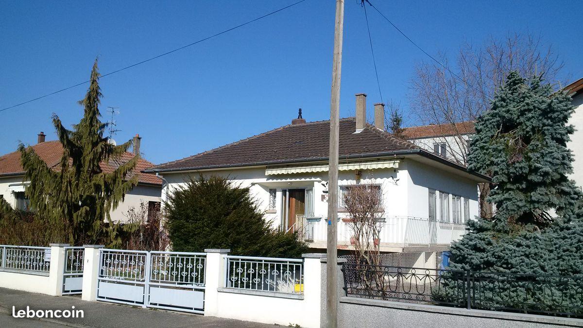 maison plain pied wittenheim