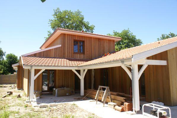 constructeur maison bois gironde