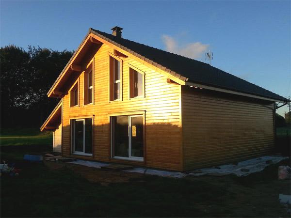 constructeur maison bois normandie