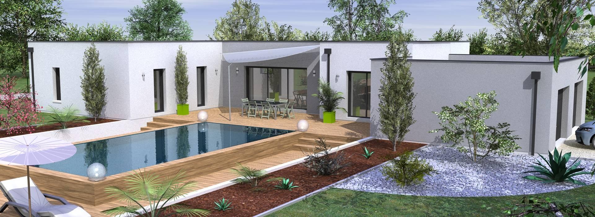 Constructeur maison moderne bordeaux ventana blog - Maison contemporaine bordeaux ...