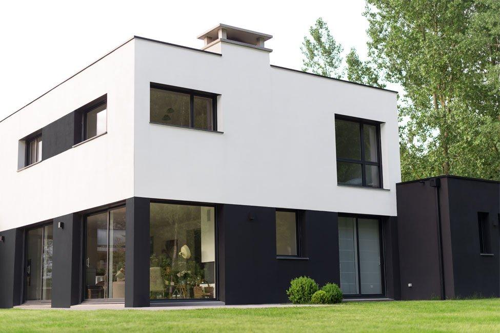 maison cubique belgique avie home. Black Bedroom Furniture Sets. Home Design Ideas