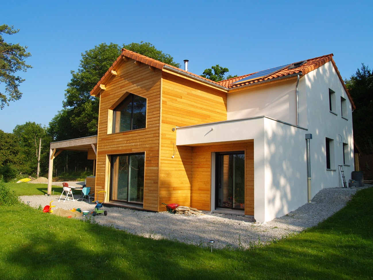 Constructeur maison ossature bois en auvergne ventana blog for Constructeur maison ecologique