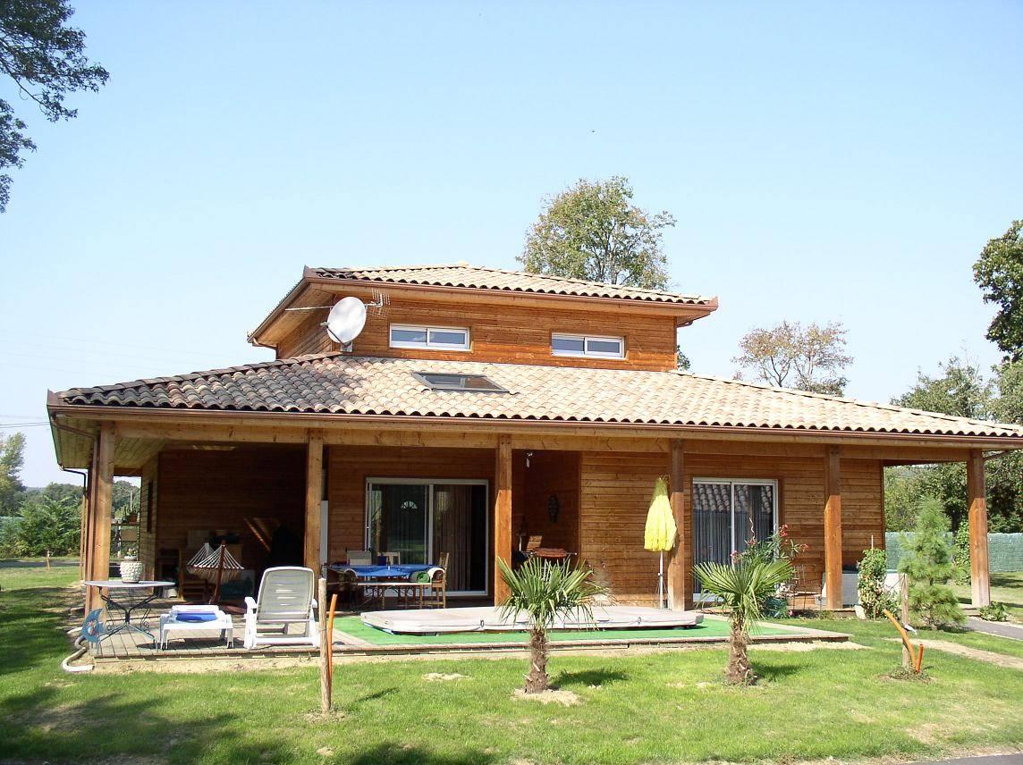 Maison bois gers segu maison for Constructeur maison gers
