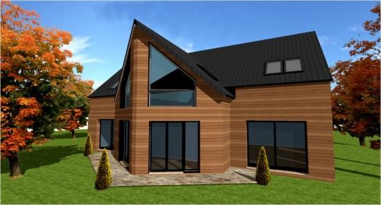 constructeur maison en bois ile de france