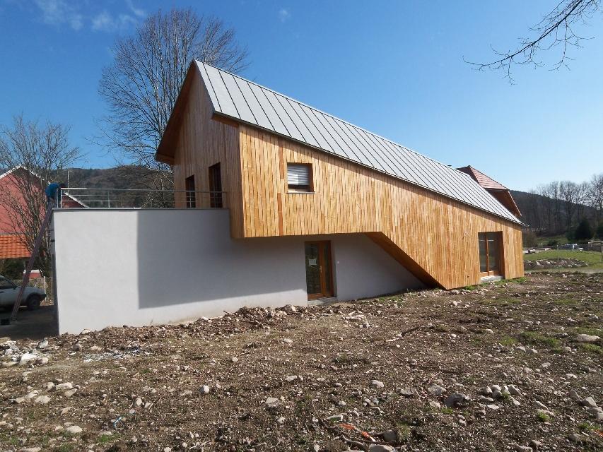 constructeur maison ossature bois alsace