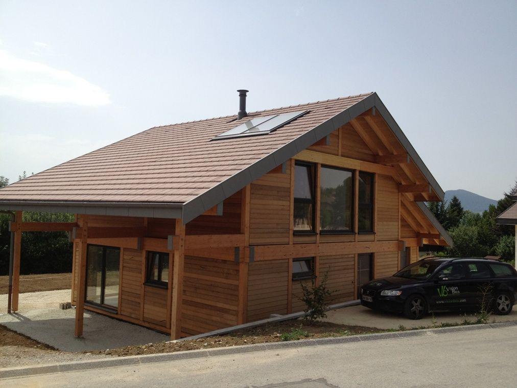 constructeur maison ossature bois haute savoie