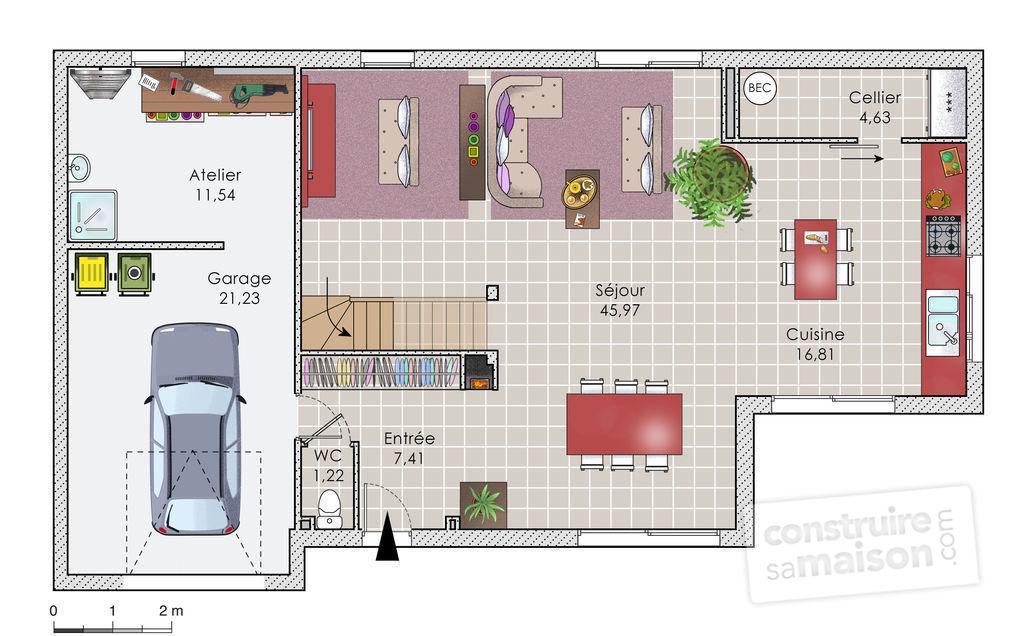 constructeur maison plan