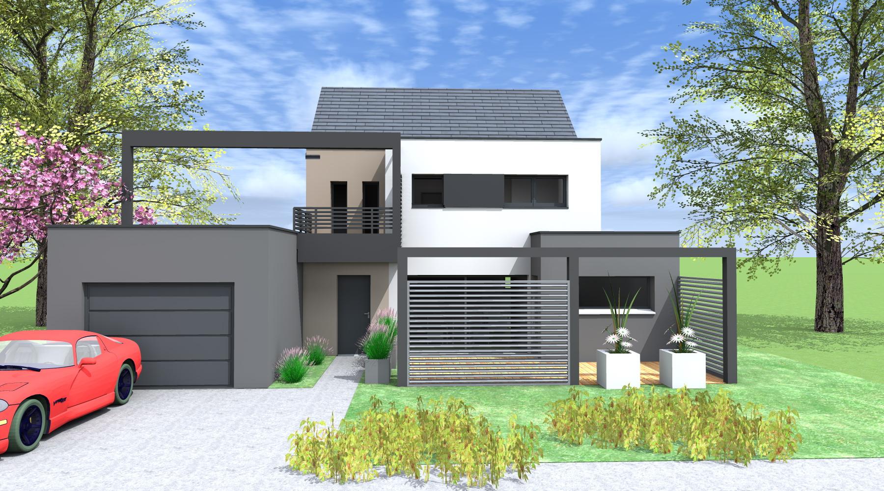 constructeur maison rennes architecte