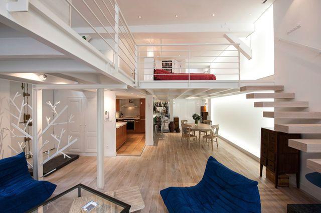 maison etage avec mezzanine