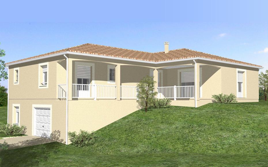 maison etage avec sous sol