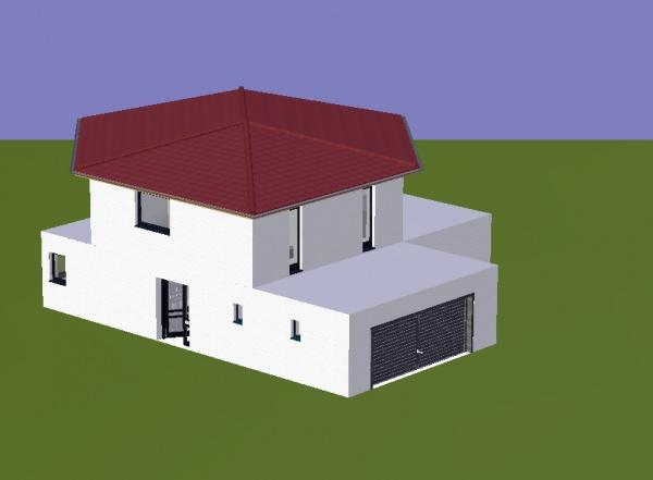 maison etage decale