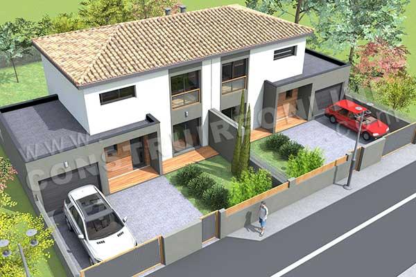 maison etage definition