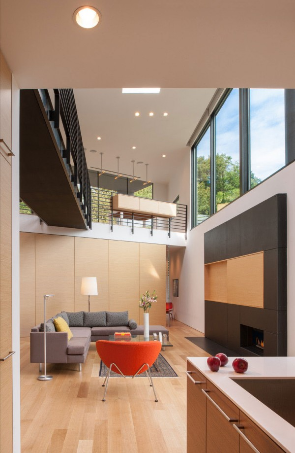 maison etage ouvert