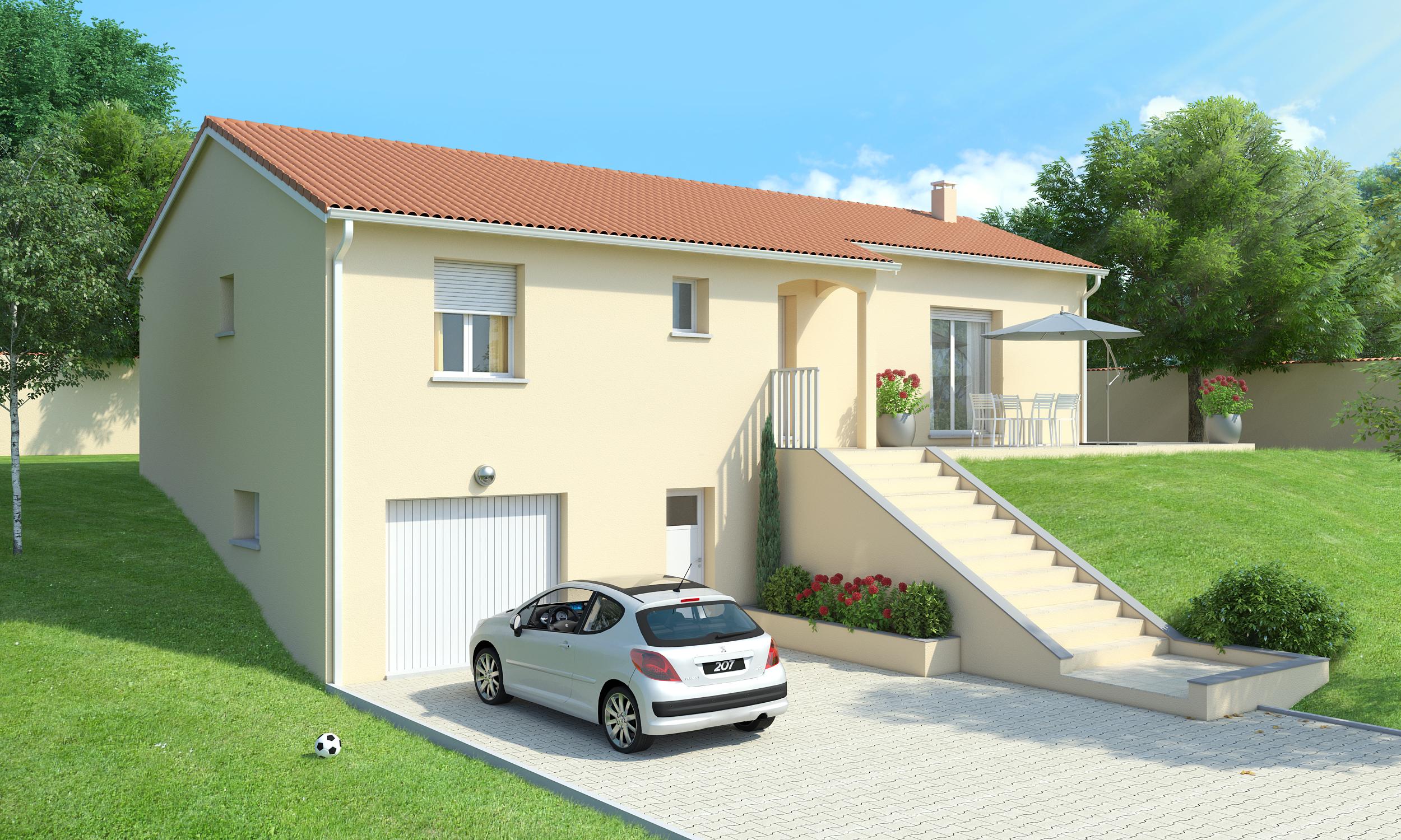 15 Wonderful Superior Plan Maison Moderne Sur Sous Sol Maison Decor