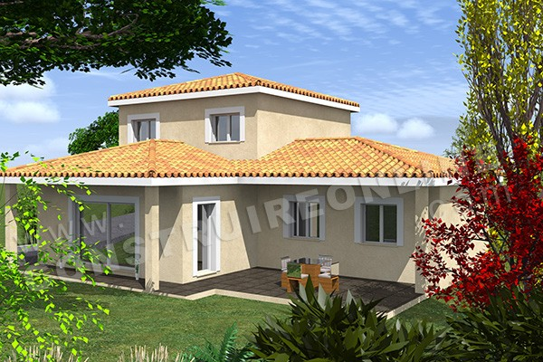 maison etage traditionnelle