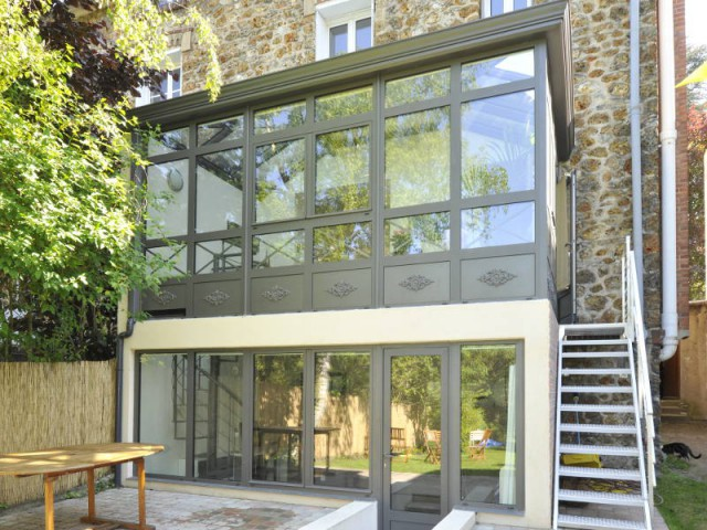 maison etage veranda