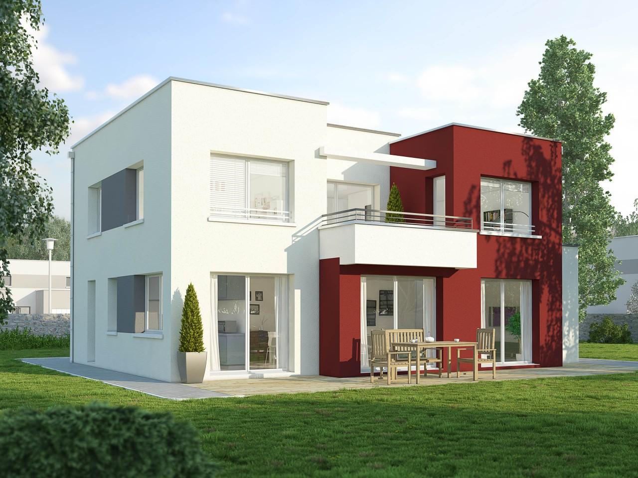 maison moderne 1 etage
