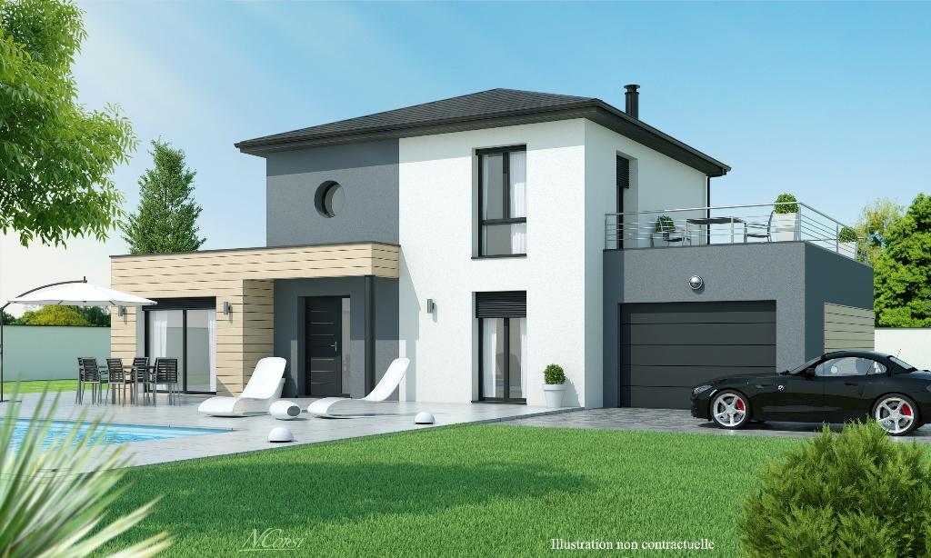 maison moderne 110m2