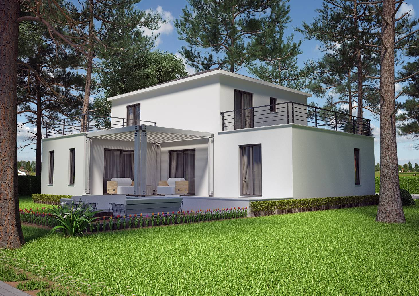 maison moderne 130m2