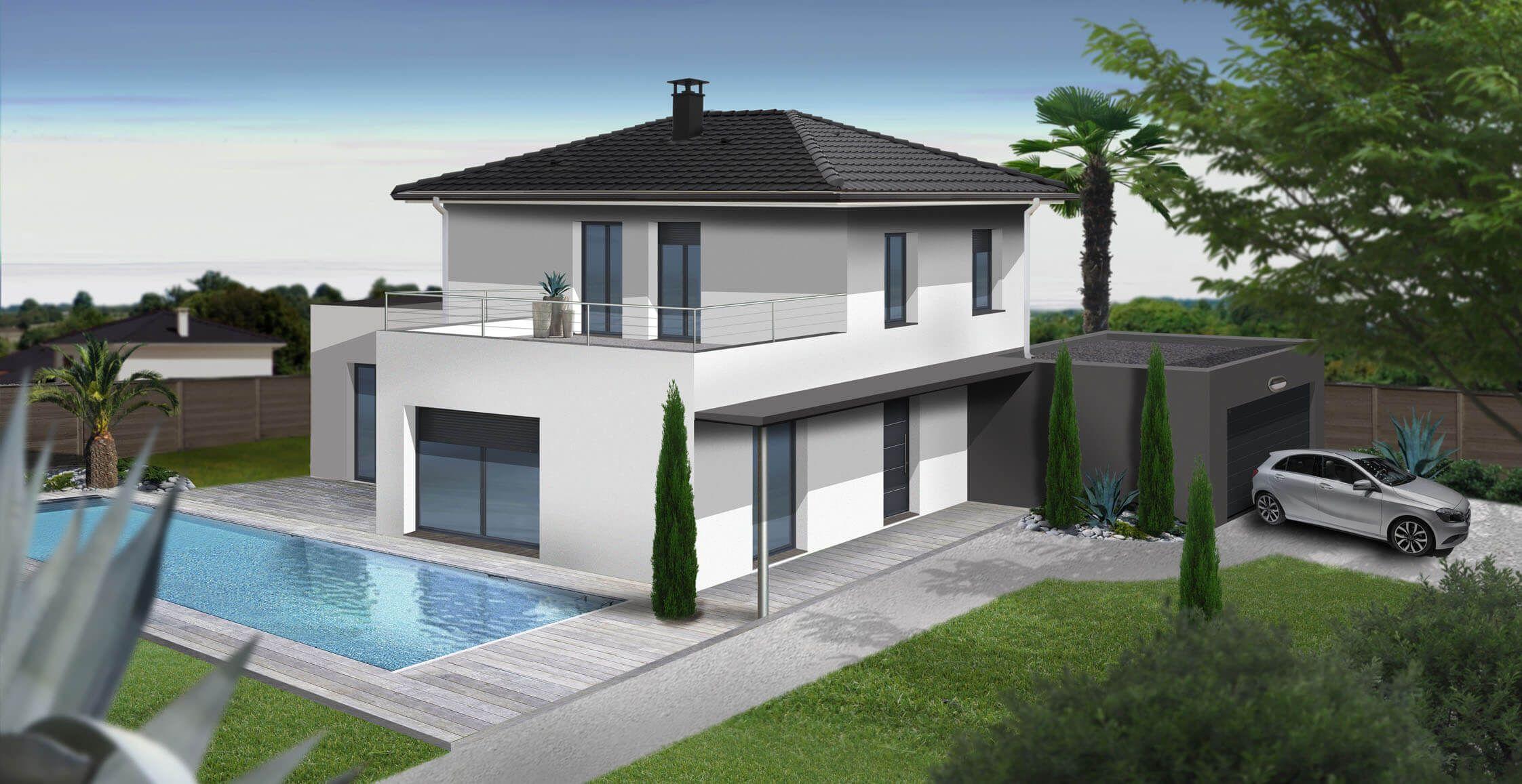 maison moderne 140m2