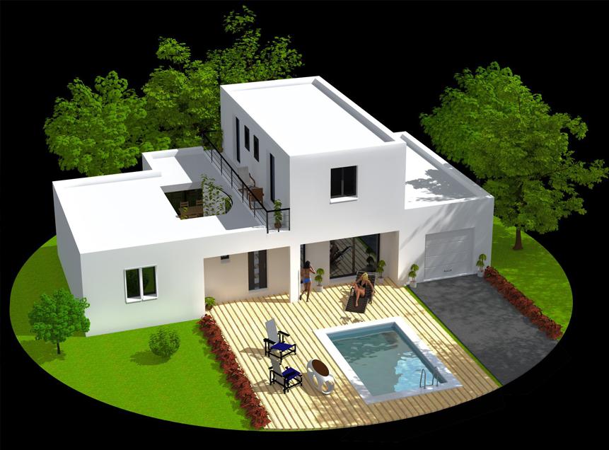 maison moderne 150 000 euros