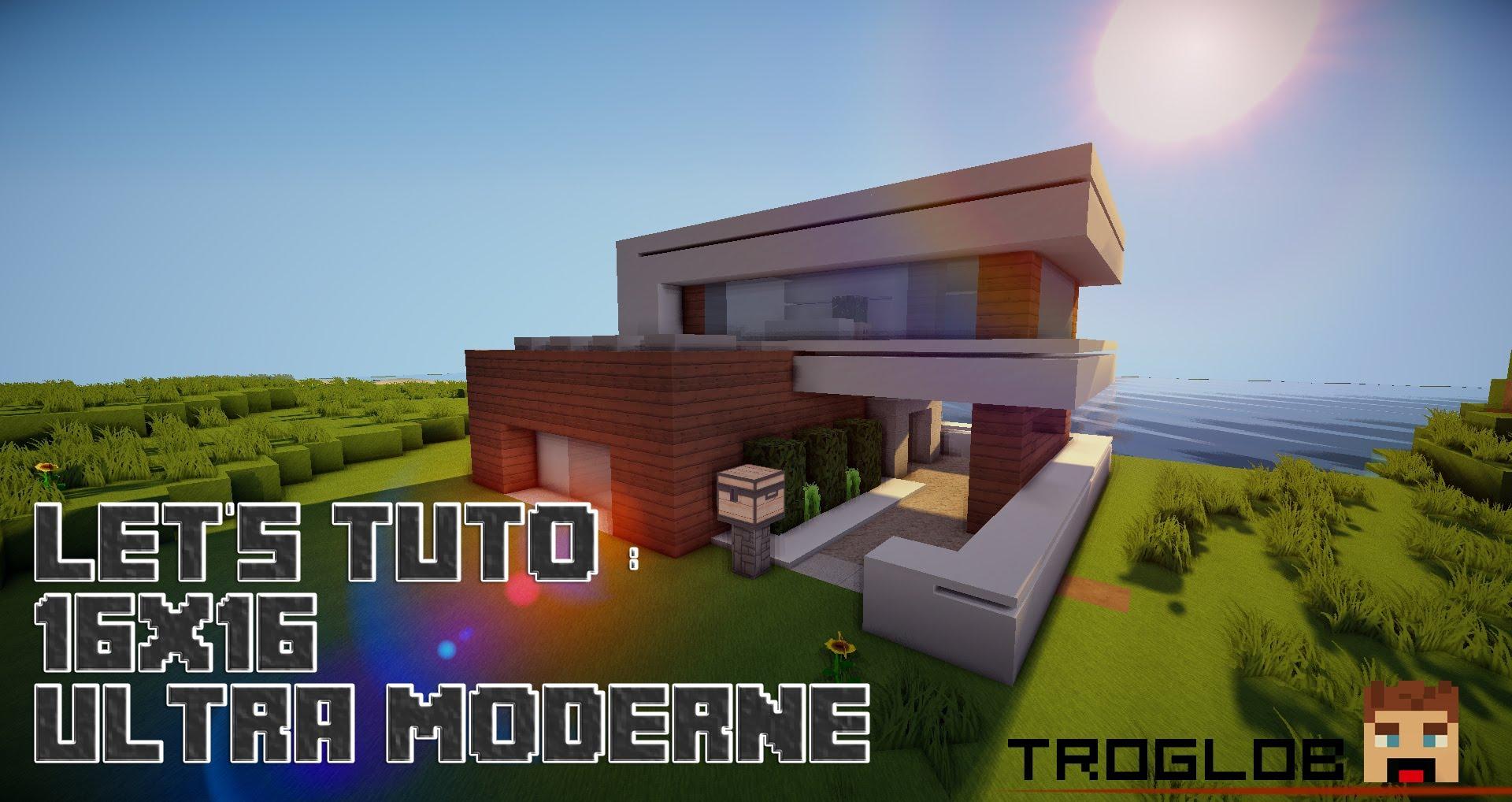 maison moderne 16×16