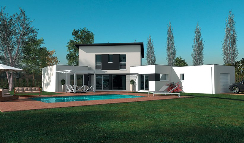 maison moderne 180m2