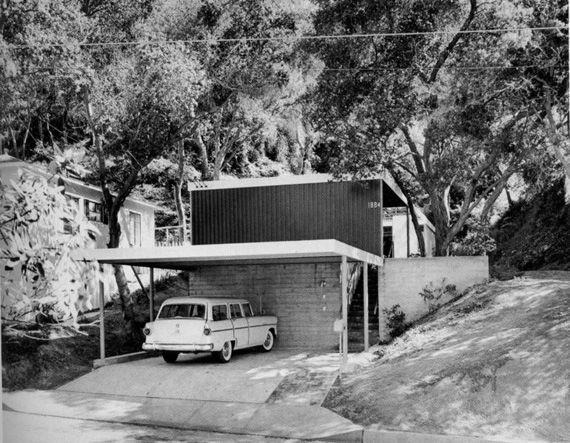 maison moderne 1950