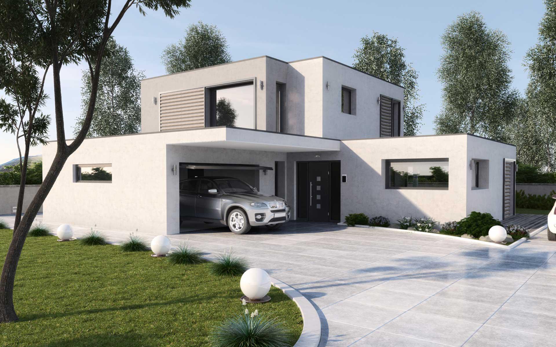maison moderne 250 000 euros