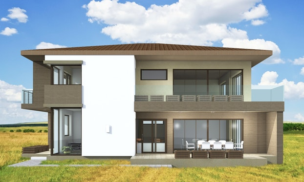 maison moderne 28