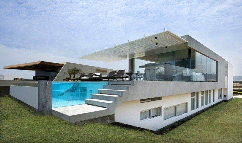 maison moderne 3 niveaux