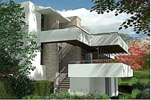 maison moderne 400m2