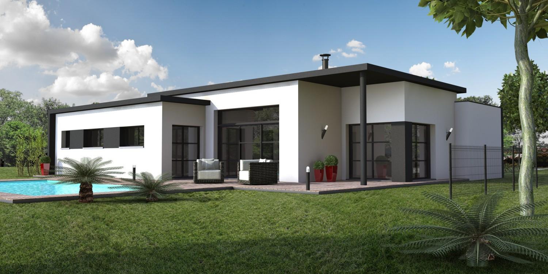 maison moderne 44
