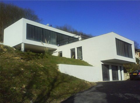 maison moderne 69