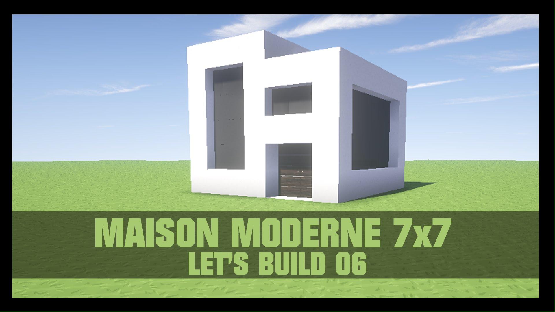 maison moderne 7×7