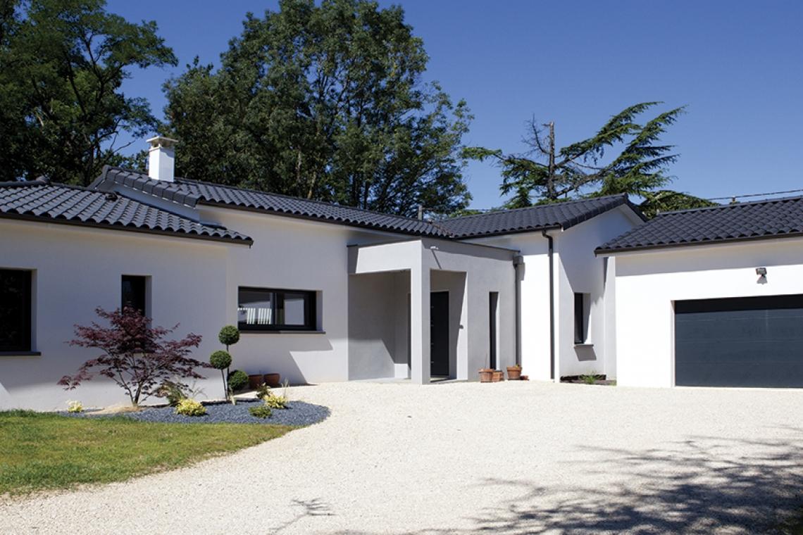 maison moderne 82