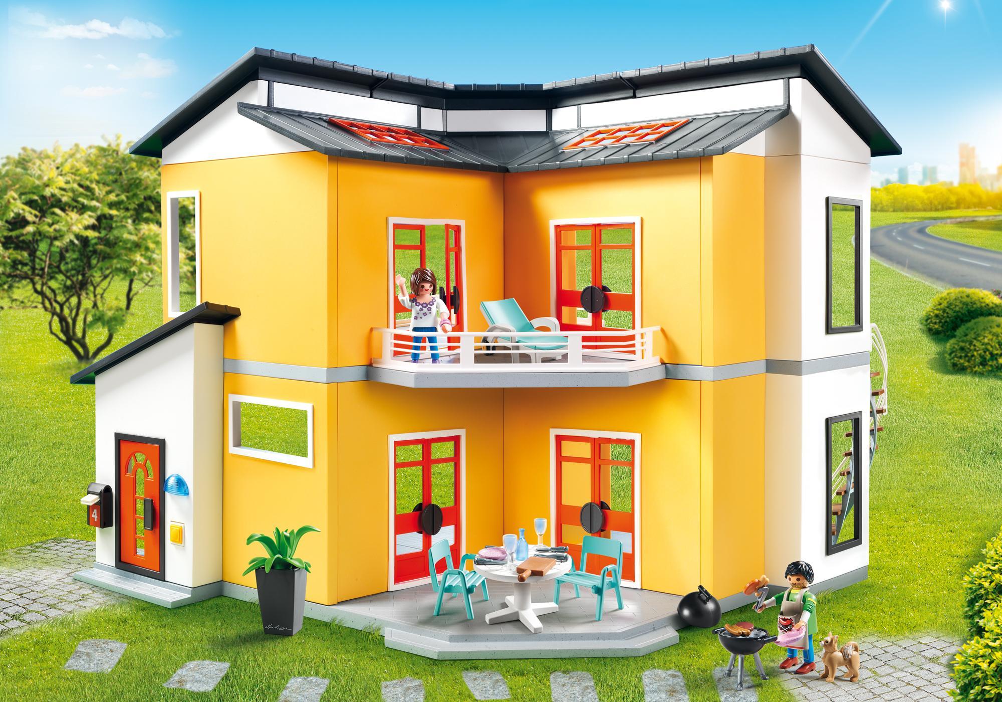 maison moderne 9266 playmobil