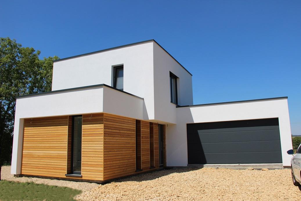maison moderne a ossature bois