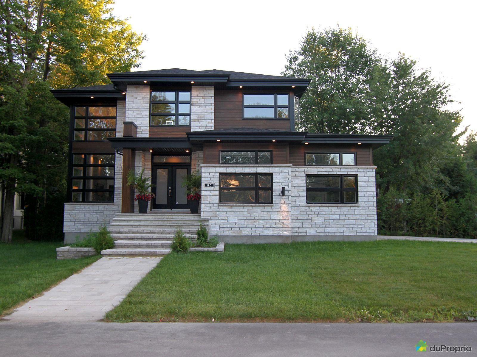 Maison moderne a vendre blainville - Maison moderne de luxe a vendre ...