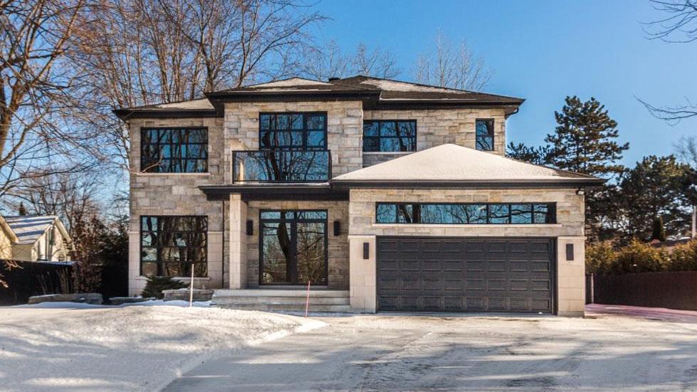 maison moderne a vendre