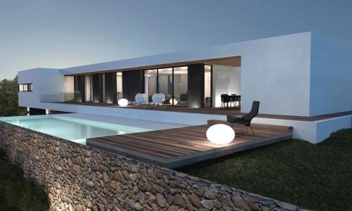 maison moderne annee 70