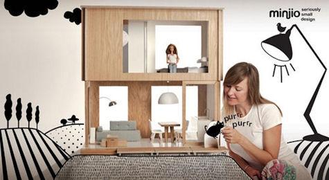 maison moderne barbie