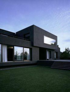 maison moderne bardage