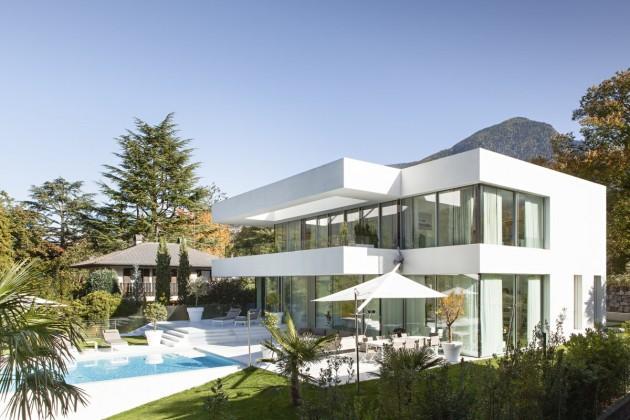 maison moderne blanche