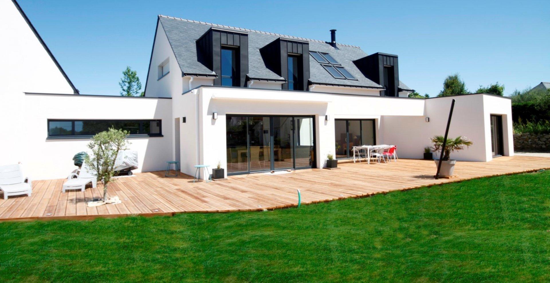 maison moderne bretonne