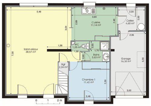maison moderne de 120m2