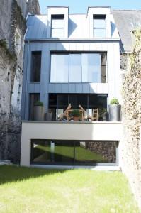 maison moderne de ville